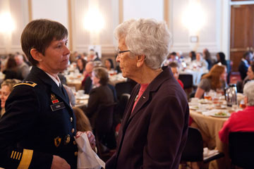 BG Pat Foote, RET and MG Janet Cobb, USAR