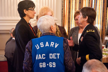 SGM Diana Huron, RET, MG Janet Cobb, USAR & Women Who Served in Vietnam