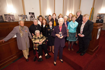 Hall of Fame Award: Women Who Served in Vietnam