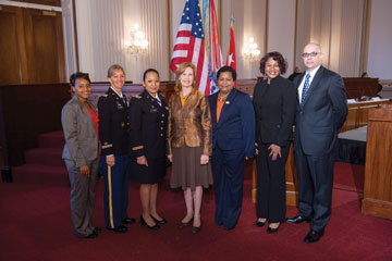 The panelists of the 5th Annual Army Women in Transition Symposium